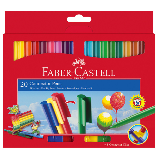 how to keep faber castell markers pointy