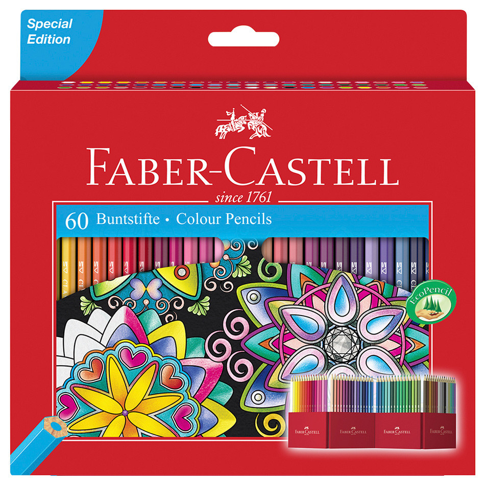 Faber-Castell Classic Colour Pencils Set of 60 | Cult Pens