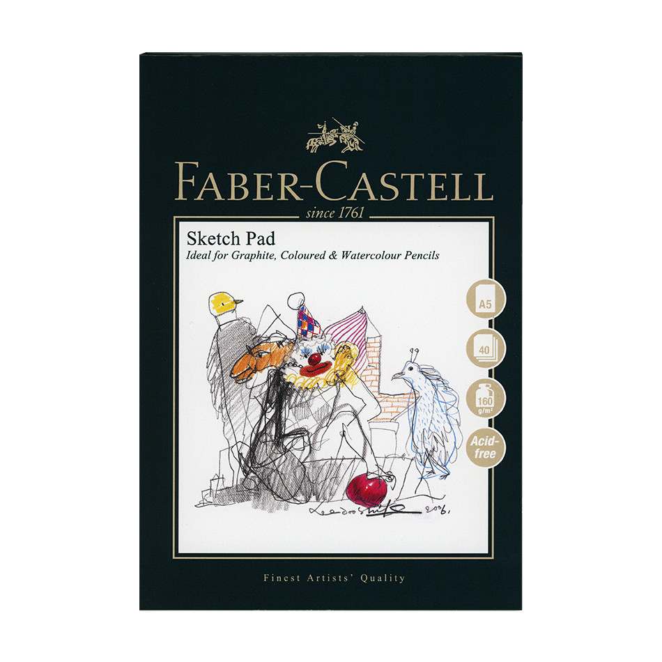 Faber-Castell Pencil Sketch Pad A5