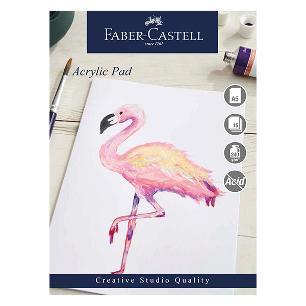 Faber-Castell Creative Studio Acrylic Pad A5