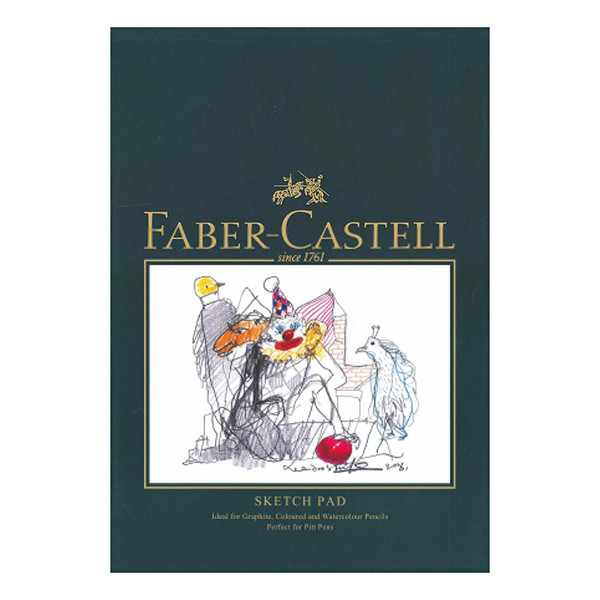 Faber-Castell Pencil Sketch Pad A4