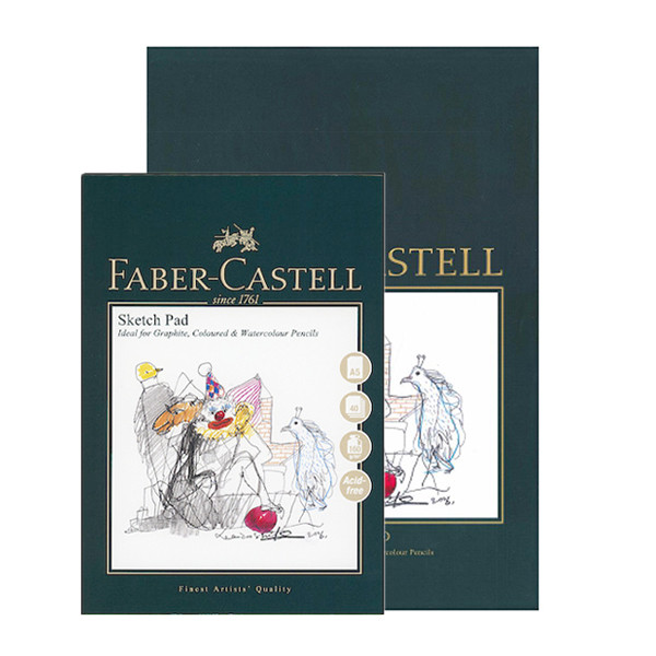 Faber-Castell Creative Studio Sketch Pad A5 + A4 Set