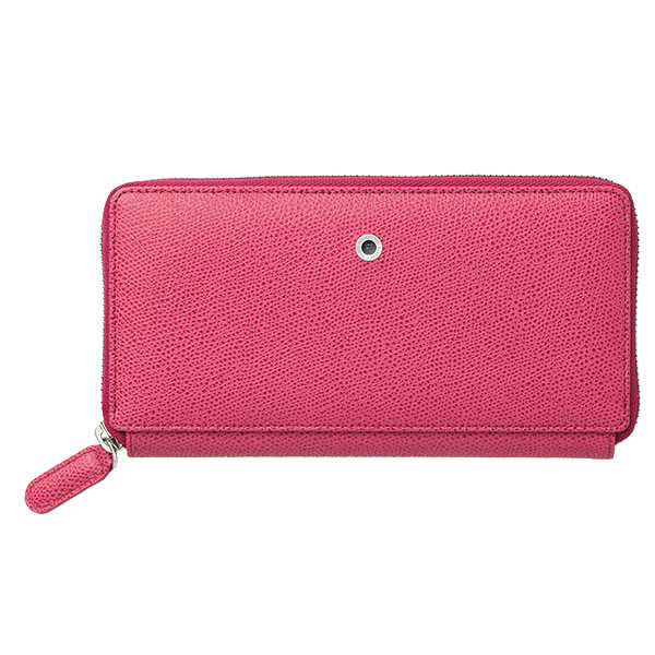 Graf von Faber-Castell Colours Ladies Leather Wallet Electric Pink