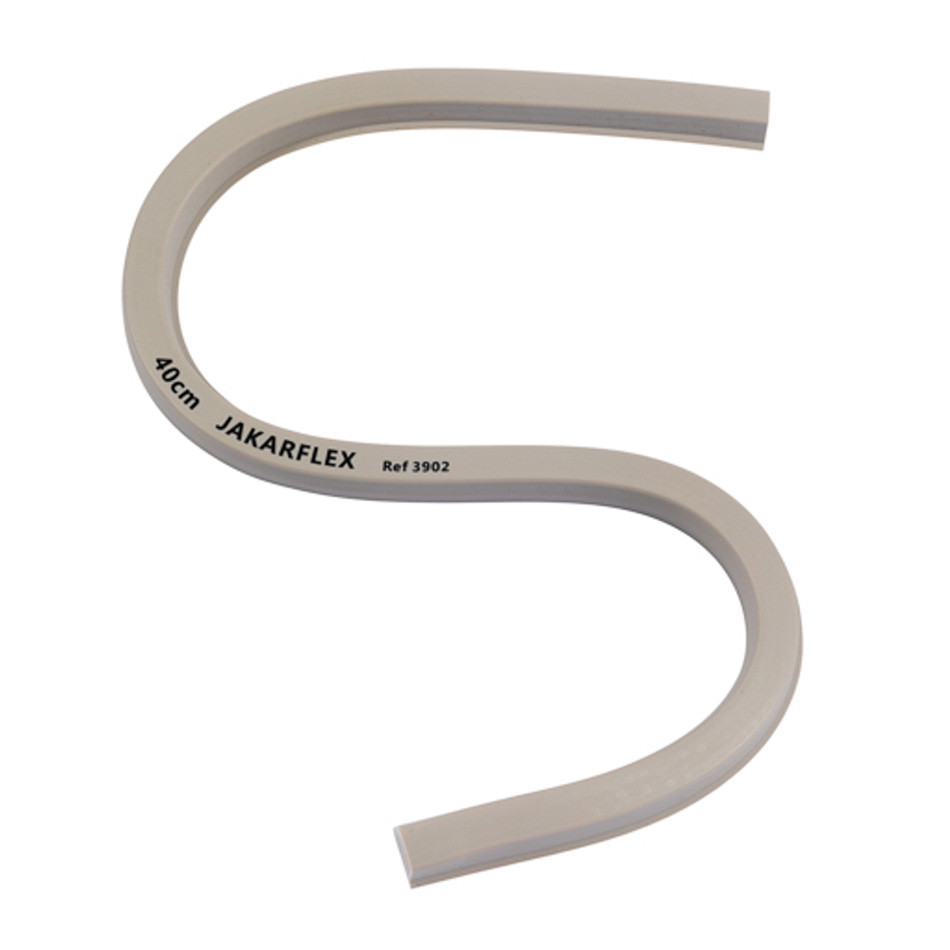 Jakar Jakarflex Flexible Curve 40cm Grey