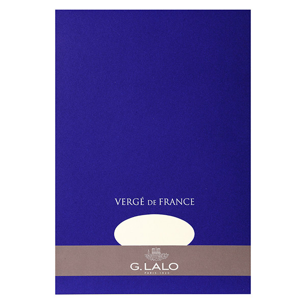 G Lalo Verge de France Writing Pad A4