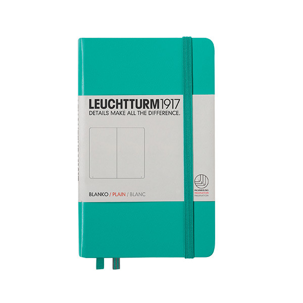 Leuchtturm1917 Hardcover Notebook Pocket Emerald
