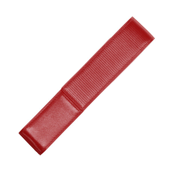 Lamy Red Nappa Leather Pen Case for One Pen