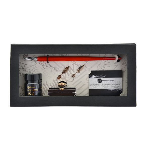 Manuscript Art of Writing Pen & Roller Blotter Gift Set