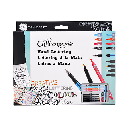 Manuscript Callicreative Hand Lettering Set