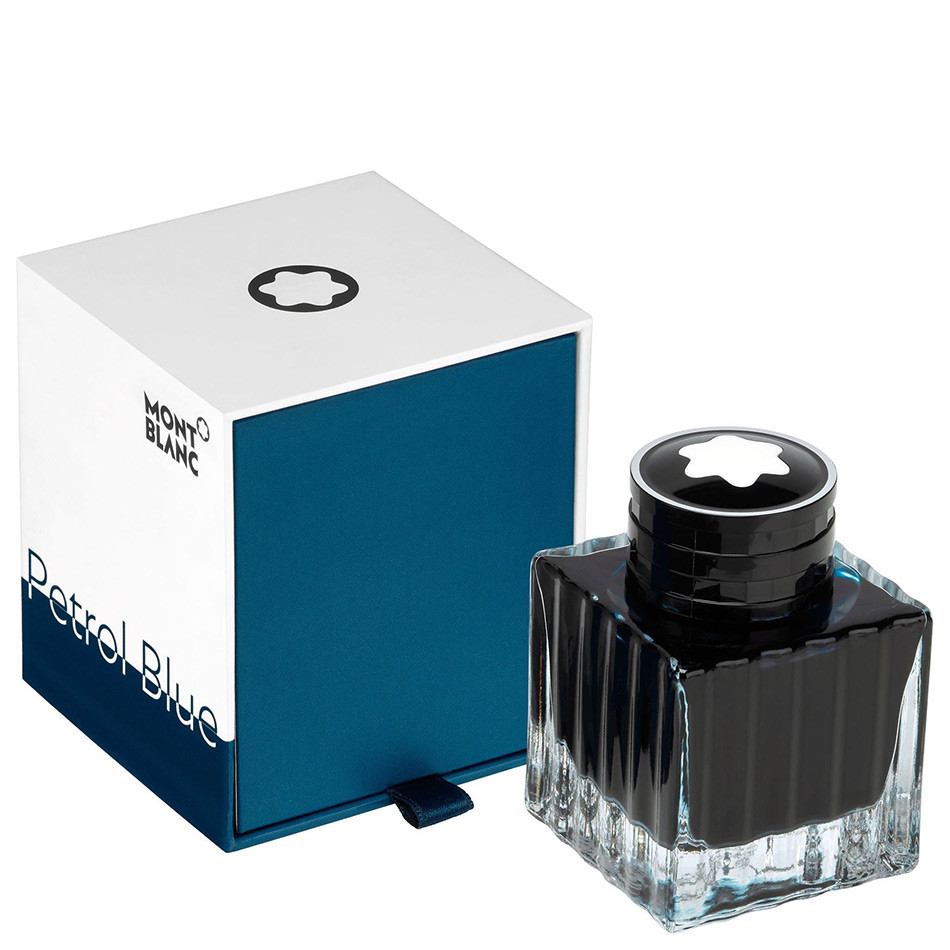Montblanc Colour Of The Year Ink Bottle 50ml Petrol Blue