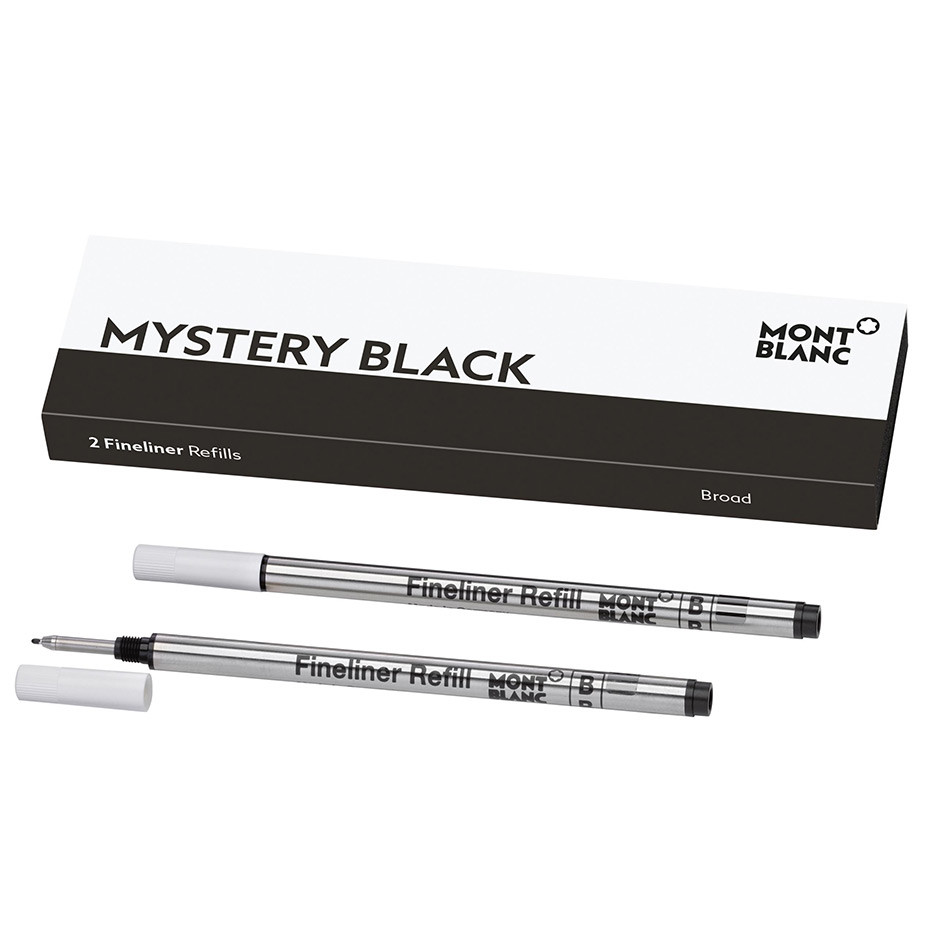 Montblanc Fineliner Refill Set of 2 Broad