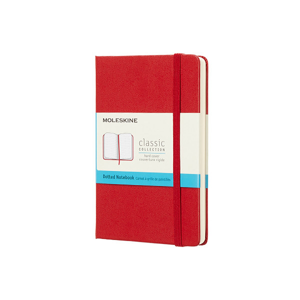 Moleskine Classic Collection Pocket Notebook 90x140 Scarlet Red