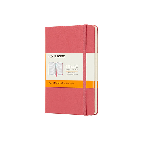 Moleskine Classic Collection Pocket Notebook 90x140 Daisy Pink