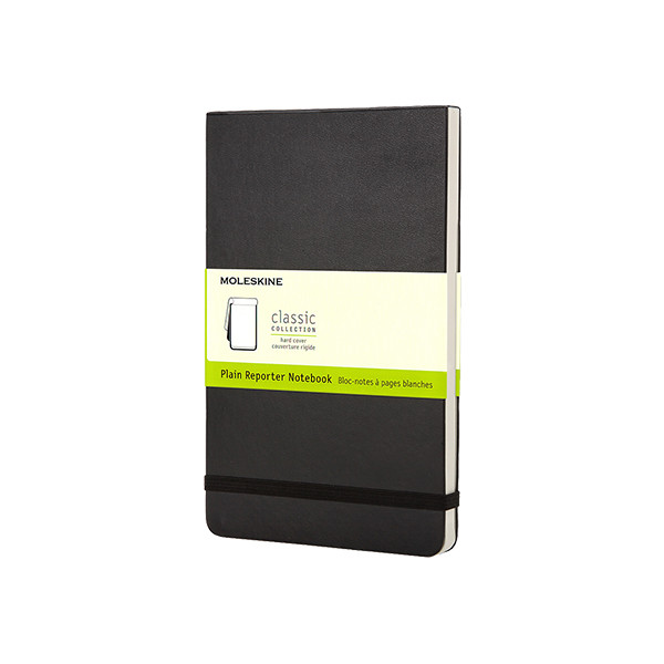 Moleskine Reporter Pocket Notebook 90x140 Black