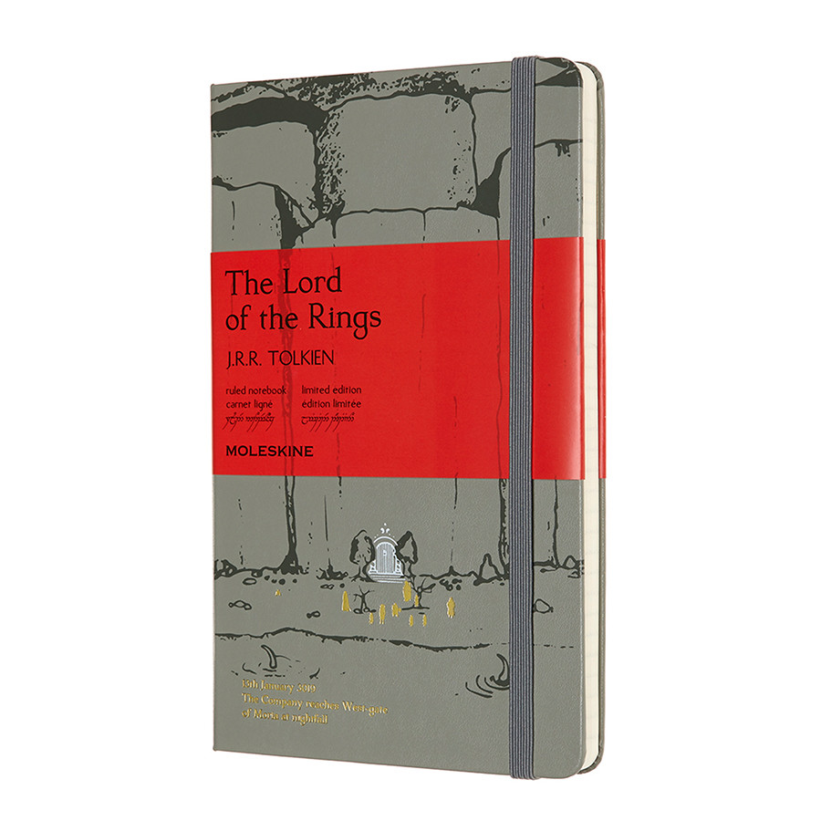 Moleskine Lord of the Rings Large Notebook Limited Edition Moria