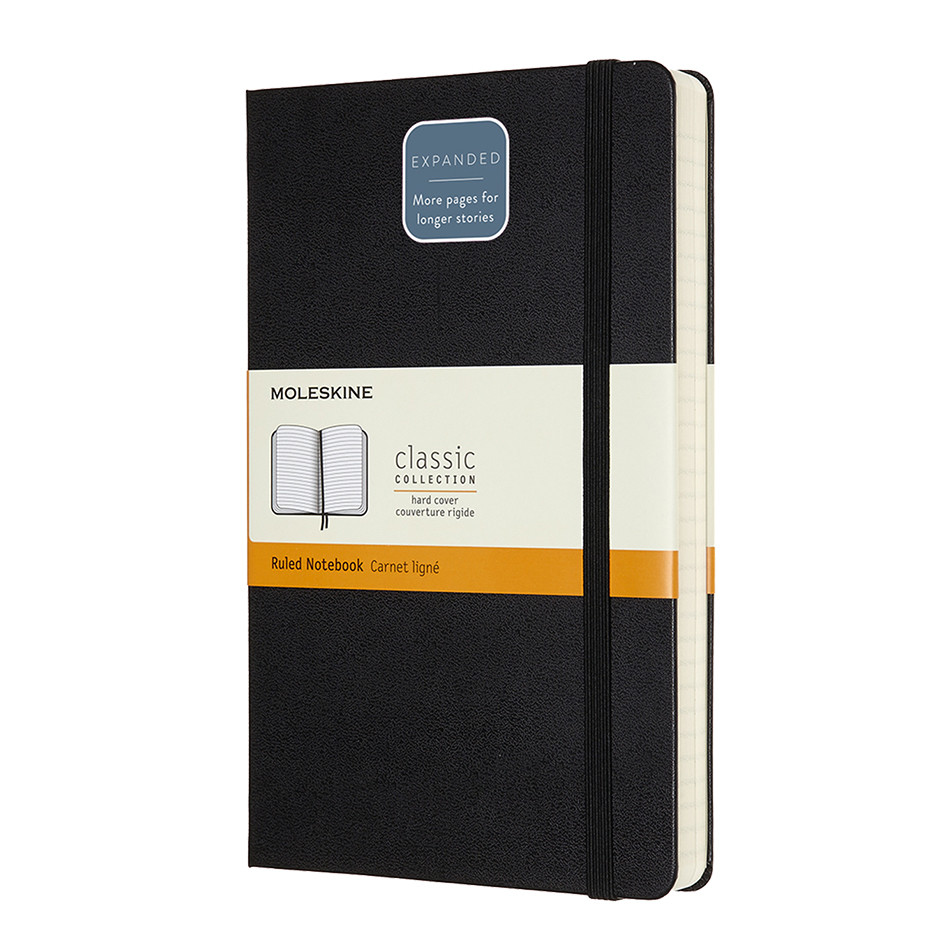 Moleskine Classic Collection Expanded Large Notebook Black