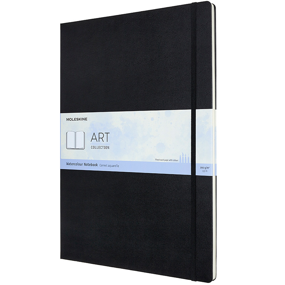Moleskine Art Plus Watercolour Notebook A3 Black