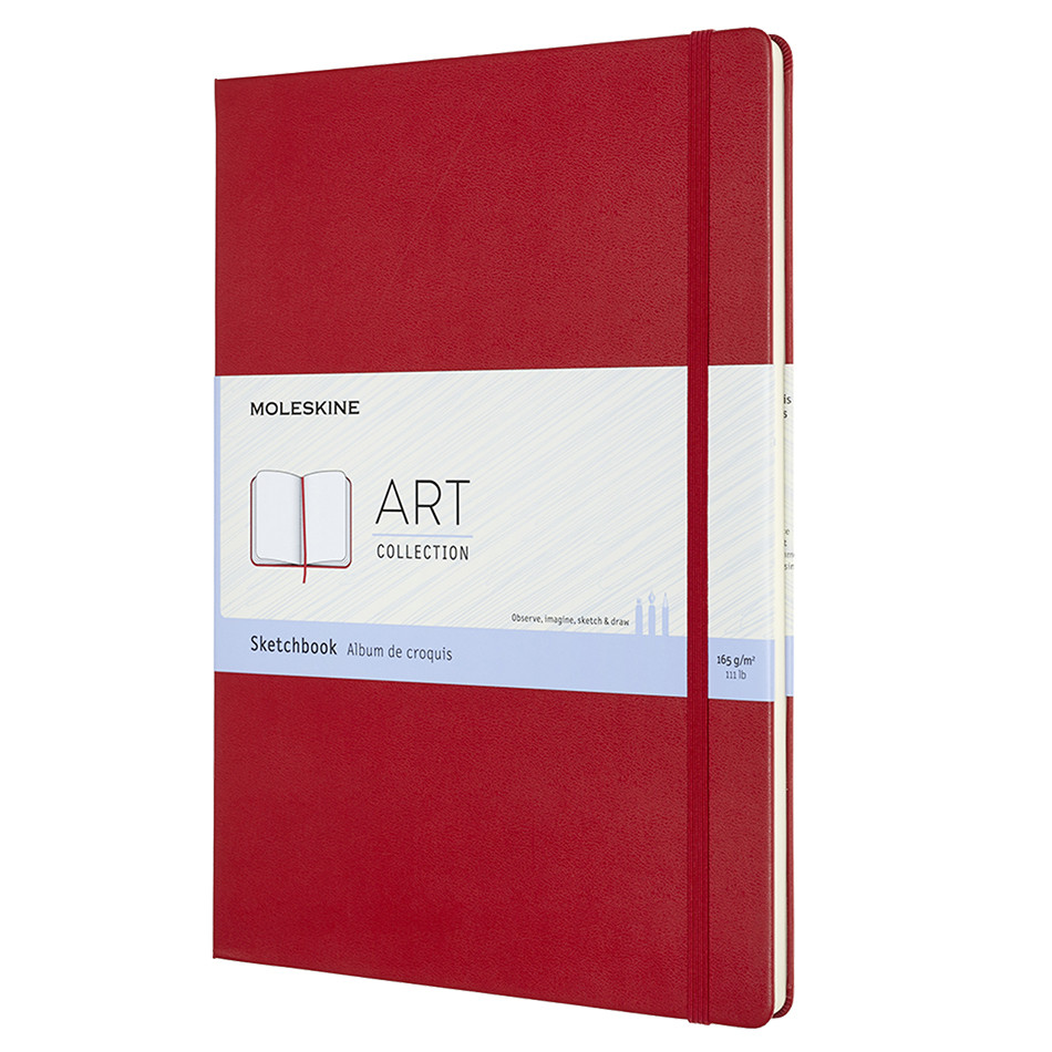Moleskine Art Plus Sketchbook A4 Red