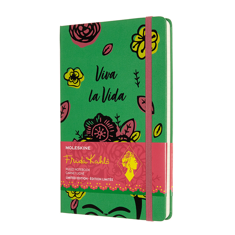 Moleskine Frida Kahlo Large Notebook Limited Edition Viva La Vida