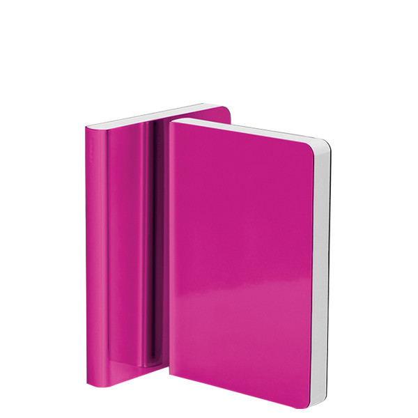 Nuuna Shiny Starlet S High Gloss Metallic Cover Notebook Pink