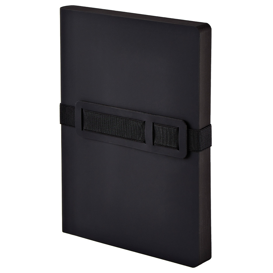 Nuuna Voyager L Recycled Leather Cover Notebook Black