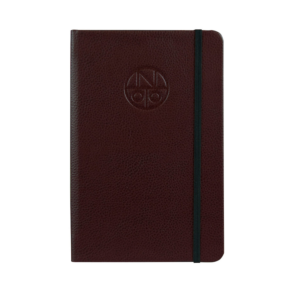 Onoto A5 Leather Notebook Burgundy
