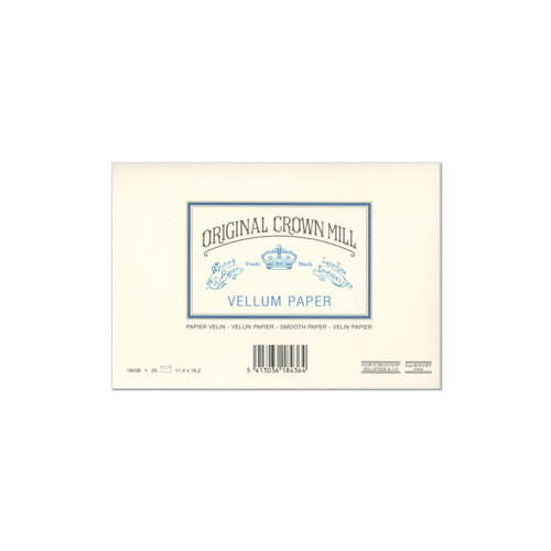 Original Crown Mill Vellum Lined Envelopes C6