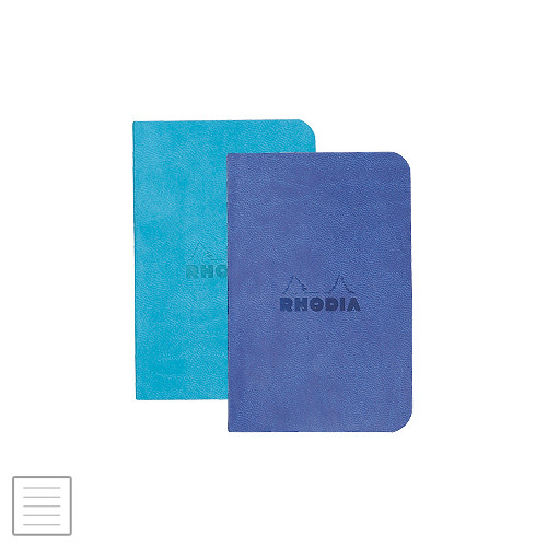 Rhodia Rhodiarama Softcover Notebook Twin Pack A7 70 X 105