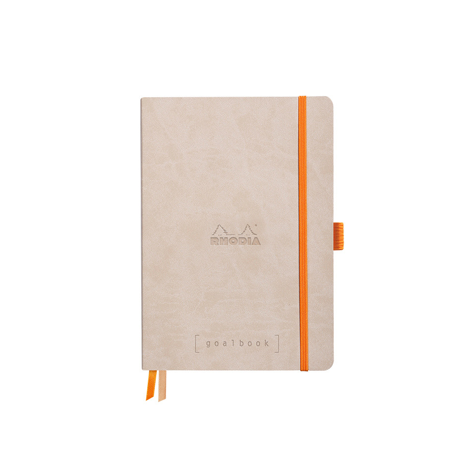 Rhodia Rhodiarama Softcover Goalbook With White Paper A5 Beige