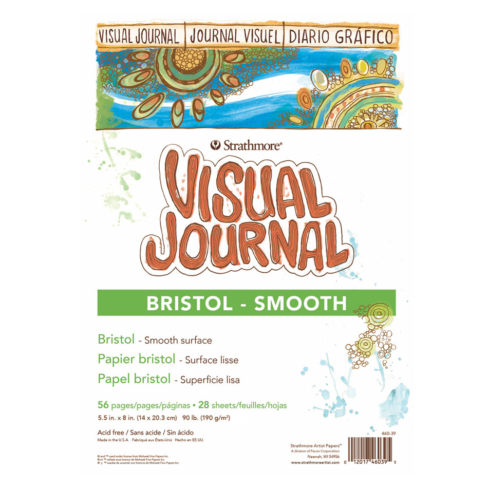 Strathmore Bristol Smooth Visual Journal 5.5x8