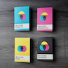 Back Pocket CMYK Colour Notebooks Set of 4