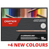 Caran d'Ache Luminance Professional Permanent Colour Pencil Box of 20 Portrait Colours + 4 additional