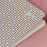 Clairefontaine Neo Deco Sewn Spine Notebook A5 Ice Blue