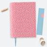 Dotty About Paper Chunky Notebook A5 Pinking Out Loud