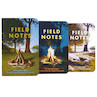 Field Notes Campfire Pocket Notebook Limited Edition Set of 3