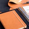 Leuchtturm1917 Leather Notebook Master Cognac