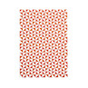 Ola Layflat Notebook A5 Kaffe Print Brick Red Ruled