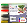 Pentel Paint Marker Medium Bullet Point MMP20 Assorted Set of 7