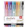 Zebra Doodlerz Gel Pen Set of 10 Assorted